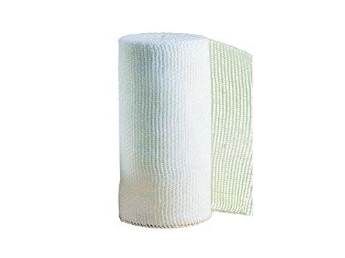 SCANSPORT cm 3,8 x 10 m Esparadrapo deportivo tape para vendajes funcionales con algodón de máxima calidad, corte sin deshilacharse sin tijeras TAP13