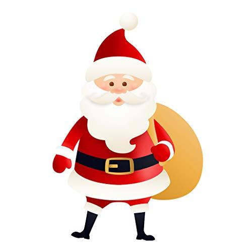 6PCS Christmas Santa Claus Decorations Yard Signs Stakes Outdoor Party Supplies Home & Garden Patio, Lawn & Garden