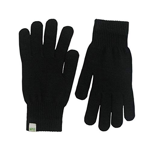 Minus33 Merino Wool 3600 Glove Liner Black Large