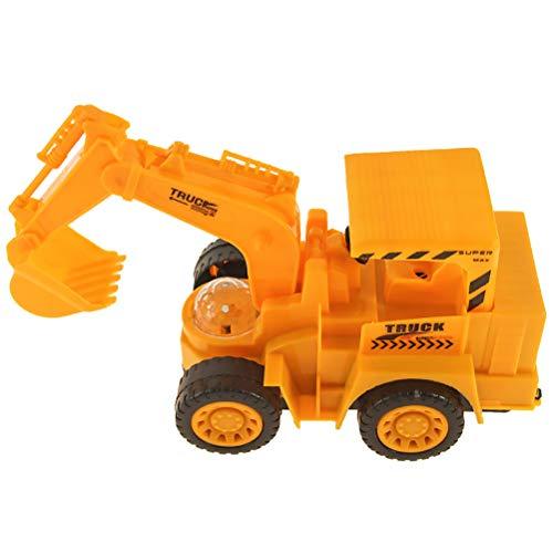 NUOBESTY Ingeniero construcción vehículo Bulldozer eléctrico IR acción construcción Tractor con luz...