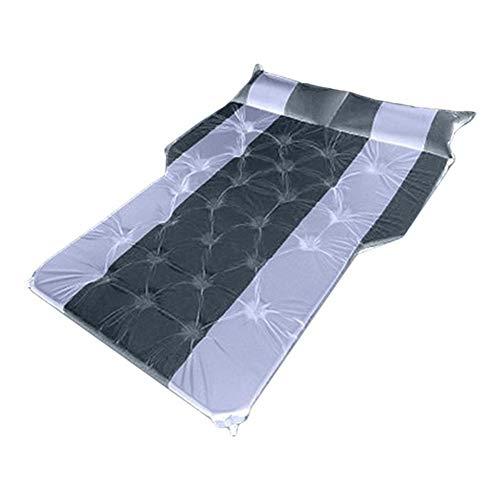 N\A Car Seat Covers Set Off-road Air Bed Camping Mat Air Mattress Car Inflatable Bed SUV Car Mattress Rear Row Car Travel Sleeping Pad Auto Accessories Car Interior Accessories (Color Name : Black)