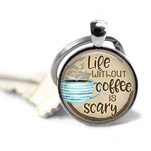Kaffee-Geschenk, ohne Kaffee Schlüsselanhänger, Schlüsselanhänger, Geburtstagsgeschenk, Anhänger