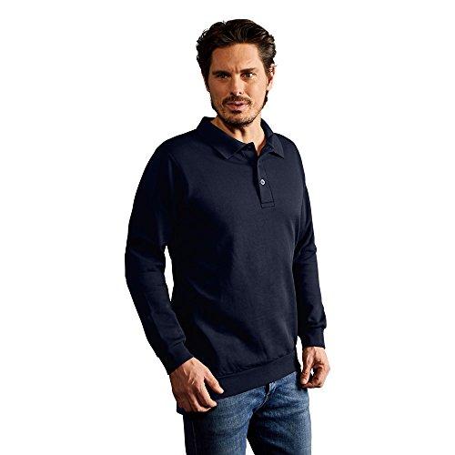 Promodoro Polo-Sweatshirt Herren