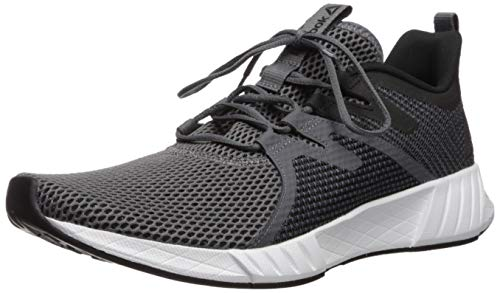 Reebok Men's Fusium Run 2.0 Shoe, Grey/Black/White, 8 M US