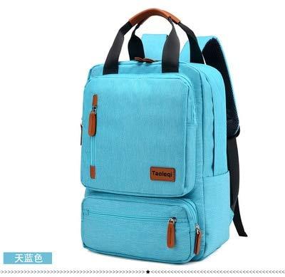 Casual Business Notebook Rugzak Light 15,6 inch laptoptas anti-diefstal rugzak reisrugzak, hemelsblauw (blauw) - MKHB-3912058562