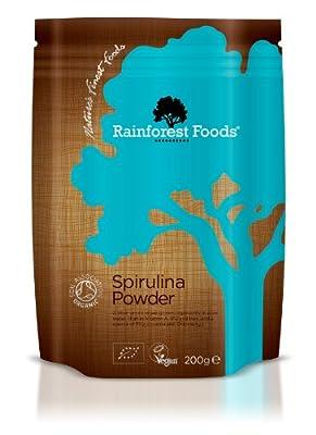 Rainforest Foods Organic Spirulina Powder 200g by Rainforest Foods