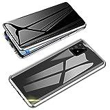 Jonwelsy Anti-Spy Funda para Samsung Galaxy A91 / S10 Lite, 360 Grados Proteccion Case, Privacidad Vidrio Templado Anti...