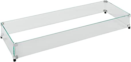Outdoor Great Room Glass Guard Fencing for CF-1242 Burner