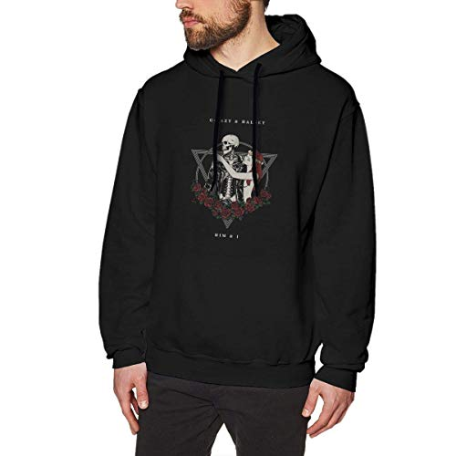 Männer Kapuzenpullover Men's Hoodies G-Eazy & Halsey Fashion Sweatshirt Black Unique Design for Adult Hoodie