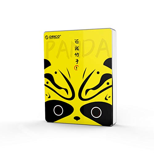 ORICO 120 GB SSD portátil, velocidad de escritura/lectura de hasta 540 MB/s, USB 3.1 Gen 2 unidad externa de estado sólido para Mac, portátil, escritorio, tableta y Android