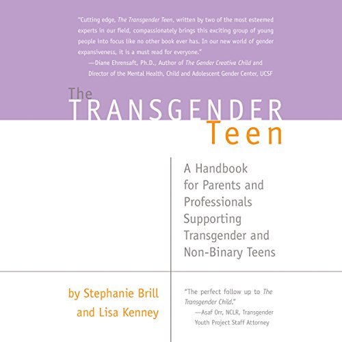 The Transgender Teen audiobook cover art