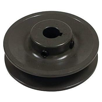 Stens 275-909 Heavy-Duty Cast Iron Pulley Bobcat 38456 0.875  ID 3.5  Width