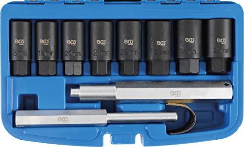 BGS 8656 | Felgenschloss-Demontage-Satz | 10-tlg | alle Felgenschlösser | ohne Beschädigungen | hohe Kraftübertragung