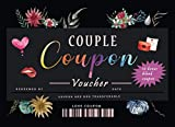 Couple Coupon Voucher: 30 Fun and Interactive coupons to spark your relationship & strengthen your bond   Unique valentine, birthday or anniversary gift for him or her