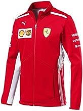 Ferrari Scuderia Formula 1 Men's Red 2018 Softshell Team Jacket w/Sponsors