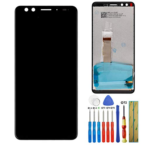 E-yiiviil Nuovo Display Compatibile con HTC U12+/U12 Plus 6.0 pollici LCD Touch Screen Display Assembly with Tools (non adatto per HTC U12, HTC U12 Life)
