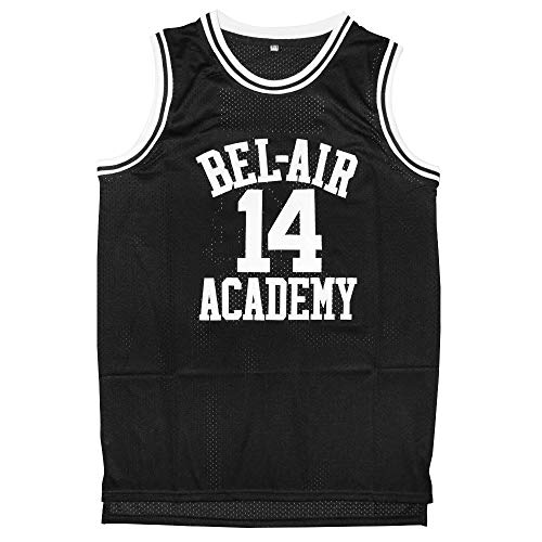 Eway Jersey #14 Basketball Jerseys S-XXXL(Black, L)