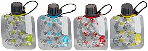 GSI Faltflasche 60 ml Faltflaschenset, mehrfarbig, 91340