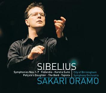 Sibelius : Karelia Suite, Pohjola's Daughter, The Bard, Finlandia & Tapiola