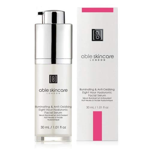 Able Skincare Illuminating & Anti-Oxidising Eight Hour Hyaluronic Facial Serum 30 ml