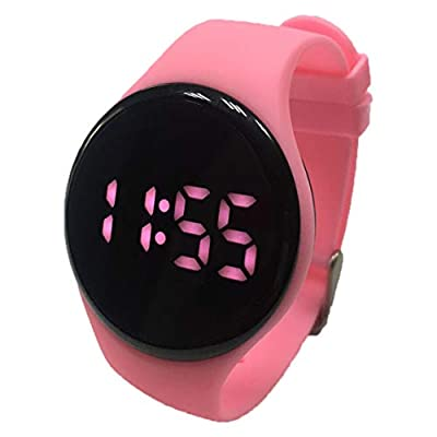 Kidnovations Premium Potty Training Watch - Toilet Training Timer - Rechargeable Water Resistant Digital Watch Reminder to Go Potty Vibrates and Plays Music Keeps Your Child Entertained at Potty Time from Kidnovations