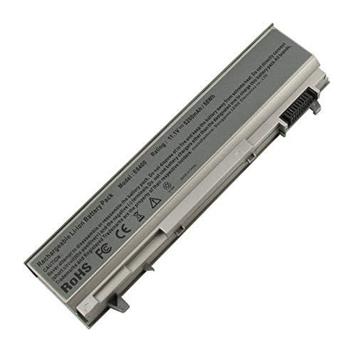 AC Doctor INC 5200mAh Battery for Dell Latitude E6400 E6410 E6500 E6510 Precision M2400 M4400 M4500 M6500 Laptop Battry Replacement 4M529 KY265 PT434 312-0749
