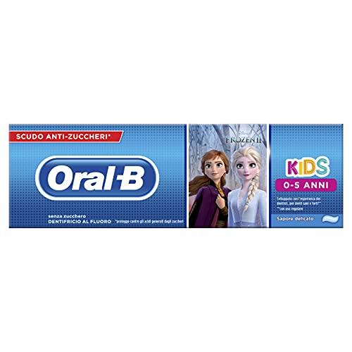 Oral-B Dentifricio per Bambini con Personaggi, 75ml, modelli assortiti
