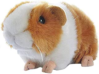 Yudit Cute Guinea Pig Plush Stuffed Animal Toys 7 Inch (Yellow + White)