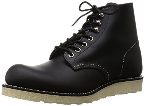 [レッドウィング] 8165 6inch CLASSIC PLAIN TOE ブーツ Black Chrome ブラッククロムレザー-4D-約22cm