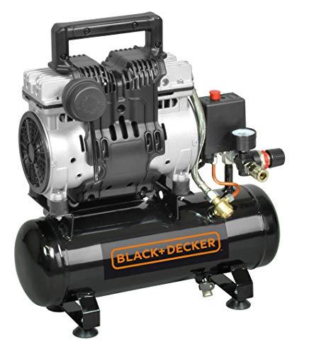 Black+Decker B2BB104BND359 Compressore Silenzioso BD 100/6-ST