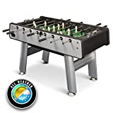 EastPoint Sports Outdoor Aluminum Foosball Table Game with Cover and 4 balls