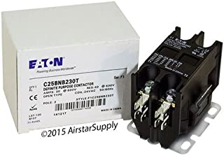 Siemens 45EG20AJ - Replaced by Eaton / Cutler Hammer C25BNB230T Contactor , 2-Pole , 30 Amp , 24 VAC Coil Voltage