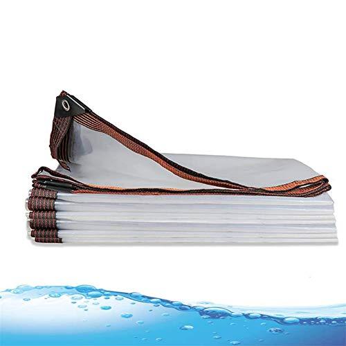 GFDGFDG Wasserdichte, strapazierfähige Mehrzweck-PE-Plane, mit Aluminium-Ösen, Schutz, für Autos, Boote, Bauunternehmer, Wohnmobile, 2 x 1 m