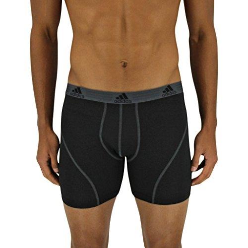 adidas Lot de 2boxers de sport pour homme en tissu léger Climalite® -  noir -