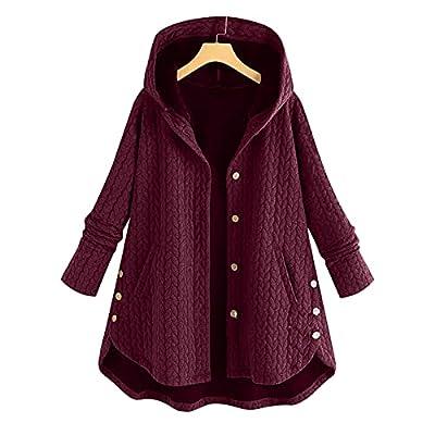 Fleece Faux Fur Coats for Women Long Sleeve Ted...