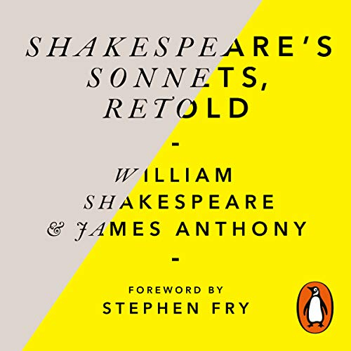 Shakespeare's Sonnets, Retold cover art