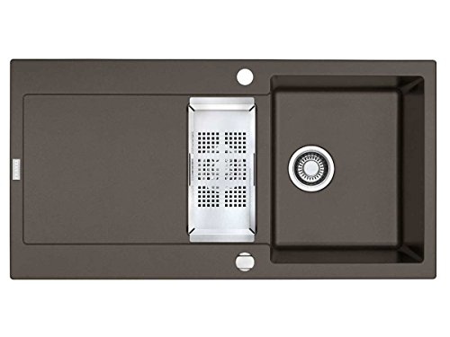 Franke Maris MRG 651 Umbra Granit Spülbecken Grau Auflage Küchenspüle Spültisch
