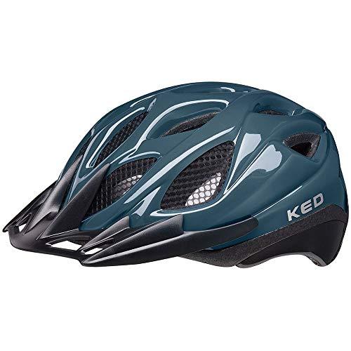 KED Tronus Helm deep Blue Kopfumfang M | 52-56cm 2021 Fahrradhelm