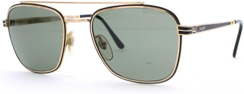 Byblos 525 3023 Black and gold Authentic Men  Women Vintage Sunglasses