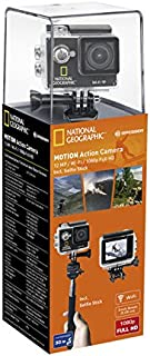 National Geographic Deutschland 9683001 Motion Action Camera WIFI - Videocámara Tarjeta de Memoria