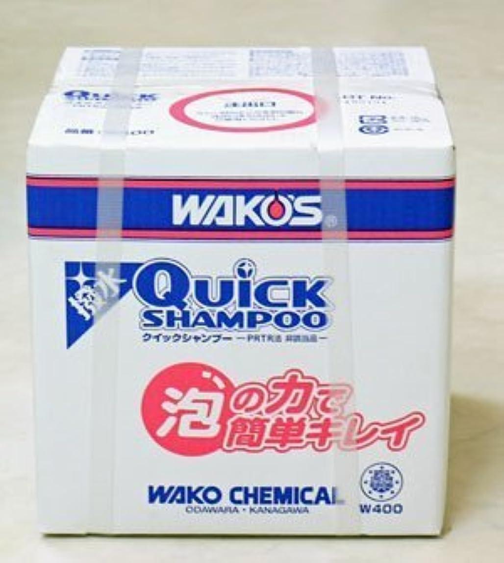 サポート生理蜂ワコーズ WAKO'S  クイックシャンプー 10L W400 QS