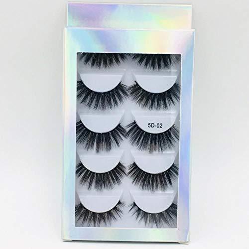 KADIS Natural Long Black False Eyelashes Fake Eye Lashes Makeup Extension Tools Professional Individual Eye Lashes,10