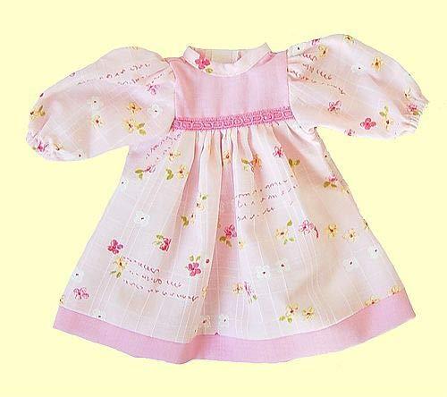 Poppenmode storm 2623-0 jurk voor poppen, roze gebloemd