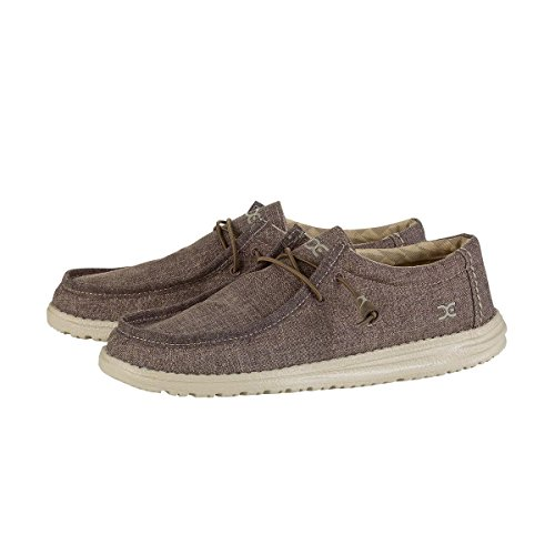 Hey Dude Shoes Wally L Linen Shoes - Rope Size EU 43 / US 10