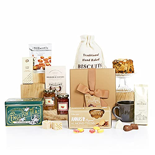Traditional Treats Hamper, Gift Hampers and Baskets for Older Friends and Family, Senior and Grandparents Hampers