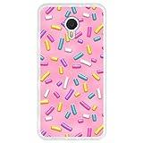 Hapdey Phone Case for [ Meizu m3 note ] design [ Pink donut