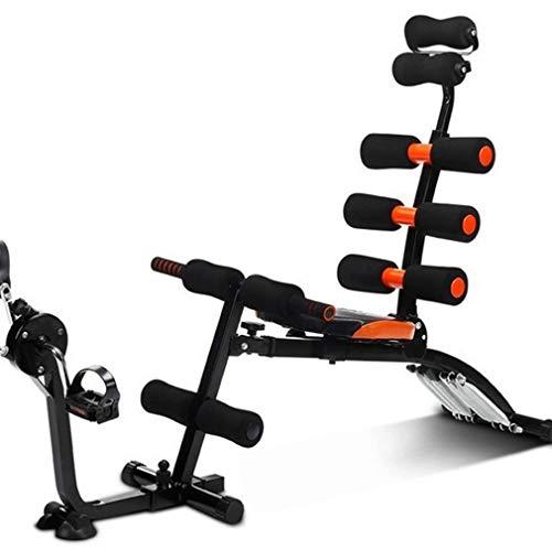 WMY Fitnessgeräte, Bauchmuskeltrainer Bauchmuskeltrainer Oberschenkel Gesäß Rodeo Höhenverstellbares Sit-up-Training nach Hause