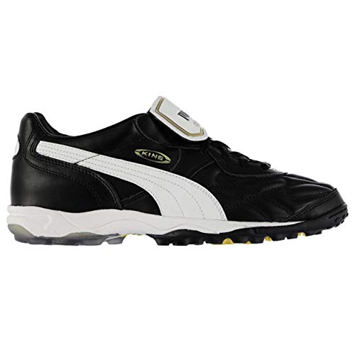 PUMA Mens King Allround Astro Turf Trainers Sports Shoes Black/White UK 11