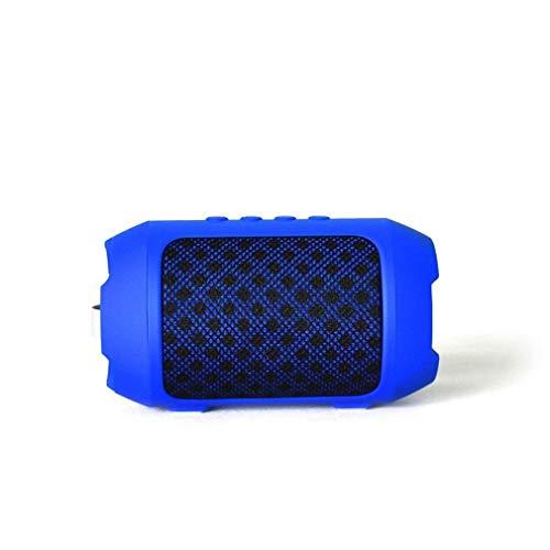 QIXIAOCYB Blue Bluetooth drahtlose tragbare Stereo-Lautsprecher-Box- 2 Bluetooth 4. 2 HD Klangqualitätswiedergabe Bluetooth-Lautsprecher