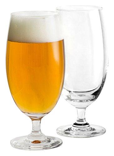 Sagaform, Set of 2 Beer Pilsner Glass, Clear